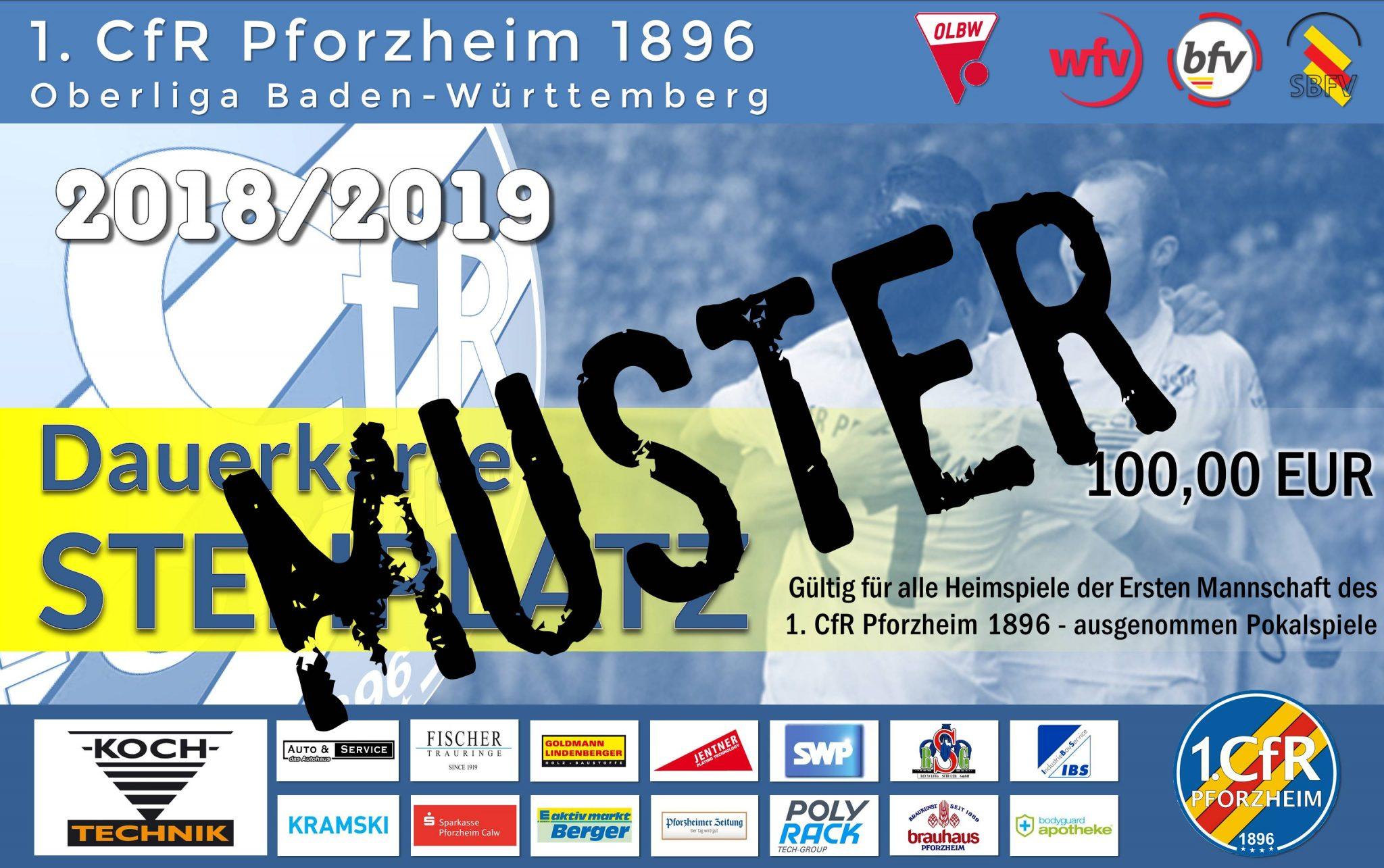 Jetzt verfügbar: Dauerkarten 2018/2019