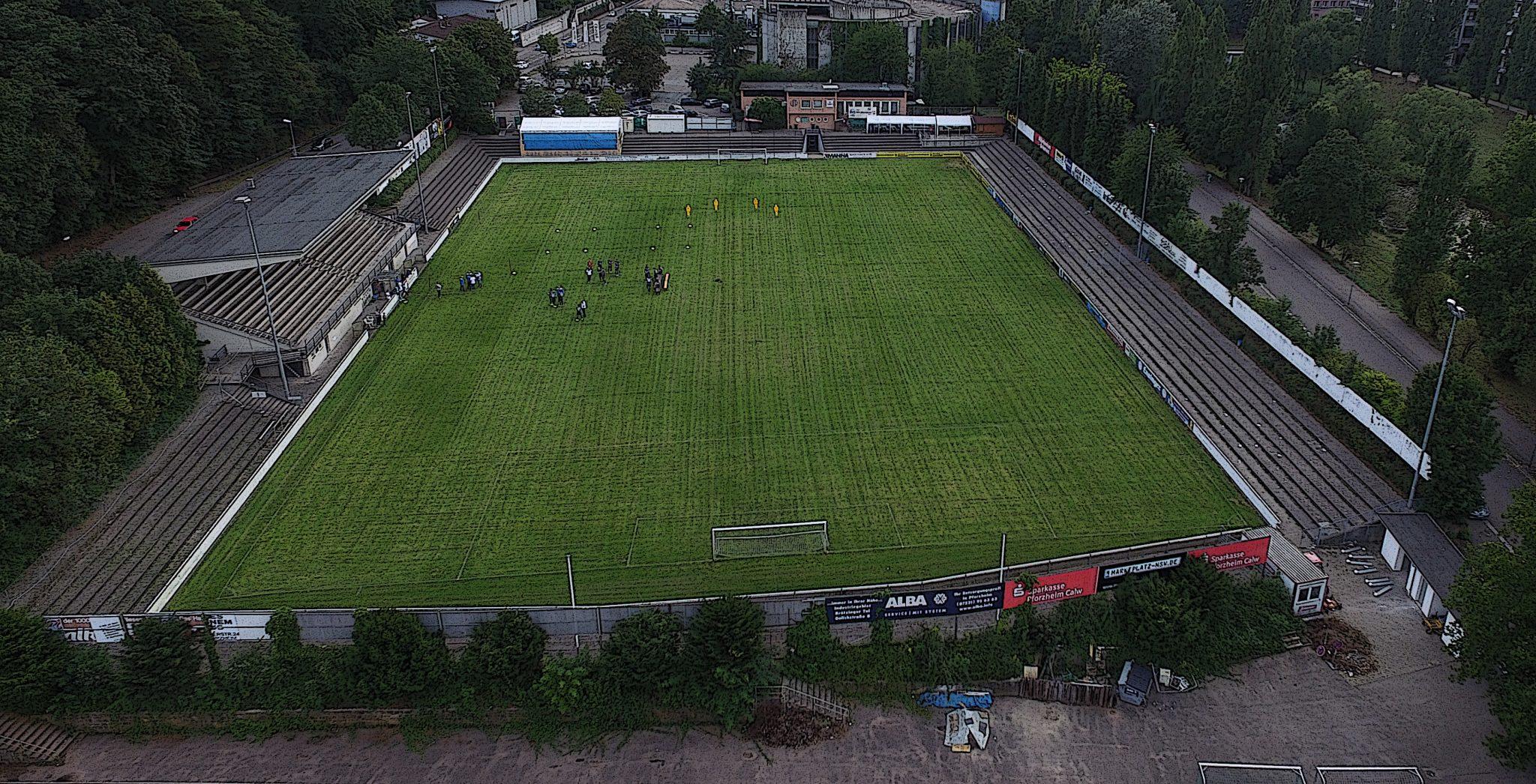 Stadionbegehung durch den DFB