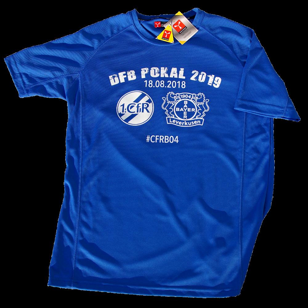 Jetzt bestellen: Fan-Shirt für den Pokalkracher