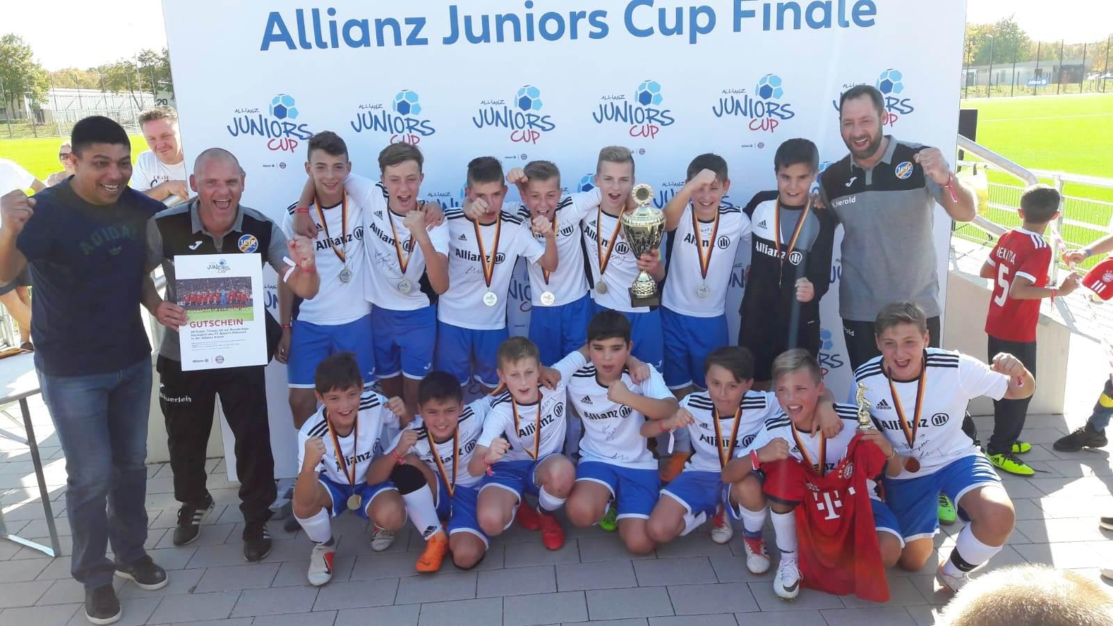 D1-Junioren gewinnen Allianz Juniors Cup