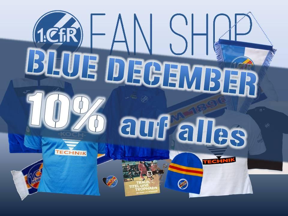 Blue December – 10% auf alle Fanartikel