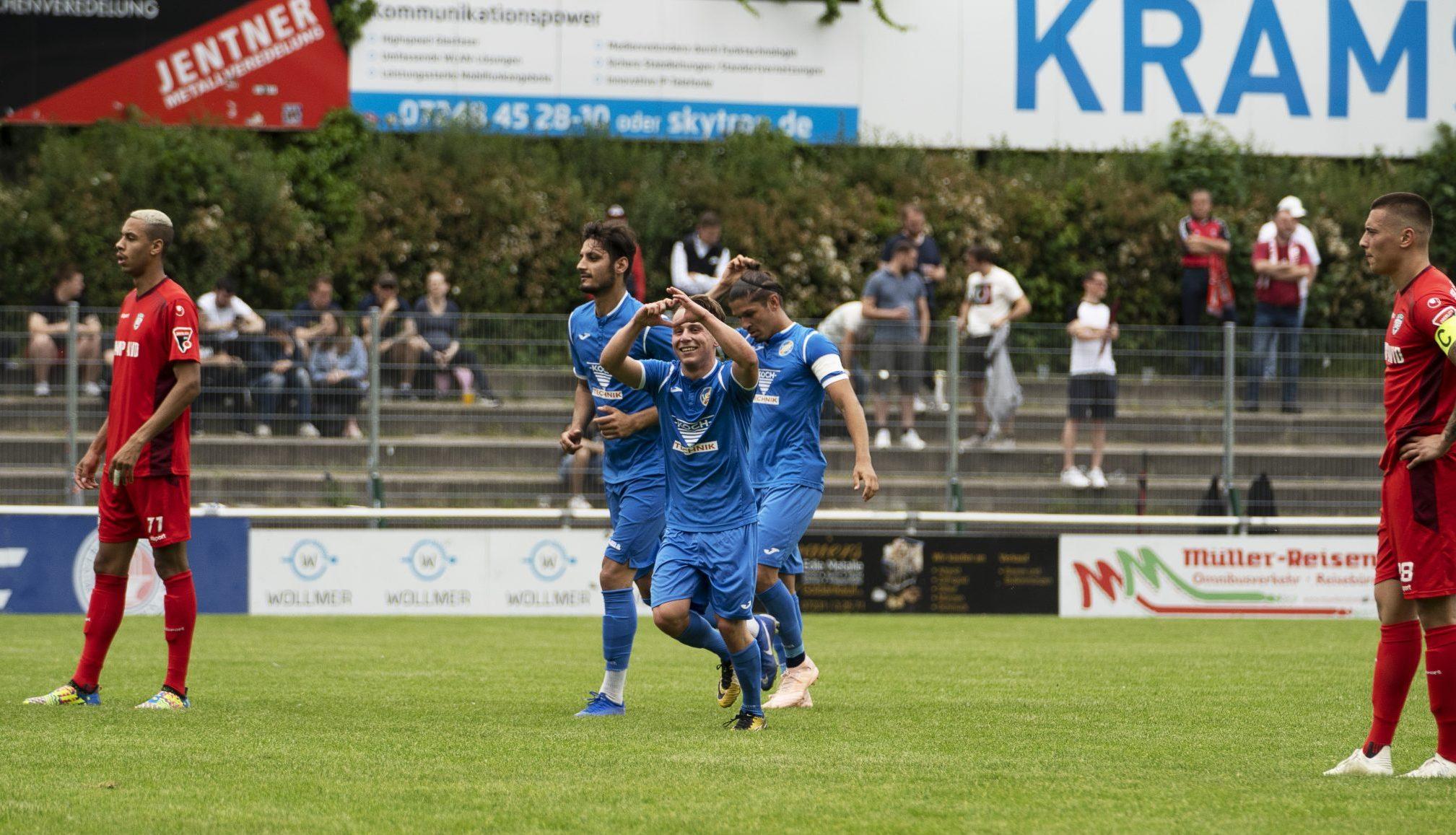 1. CfR und SSV Reutlingen trennen sich zum Saisonabschluss 1:1 unentschieden