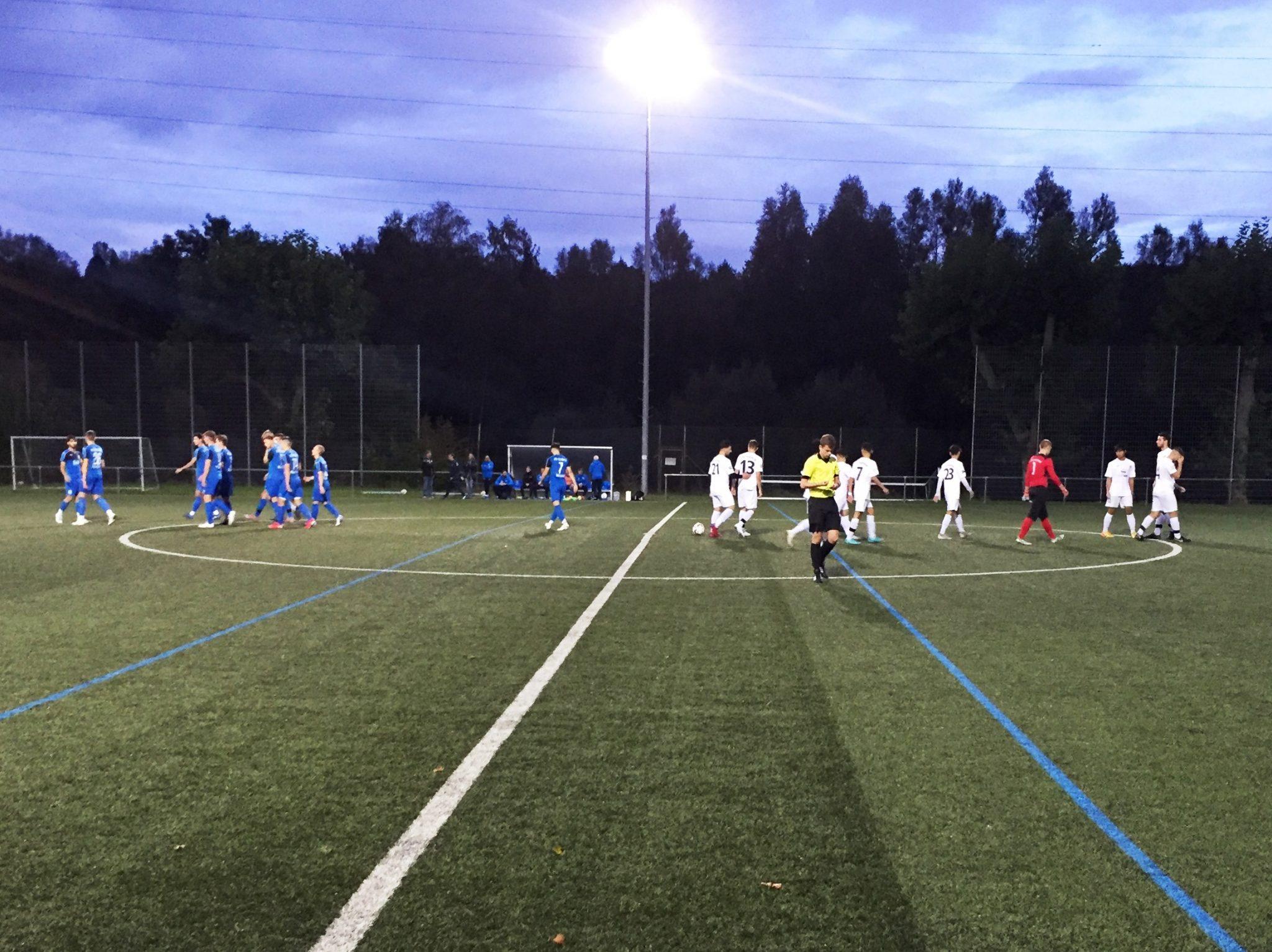 Knappe Niederlage nach spannendem Pokalfight der U19 Junioren