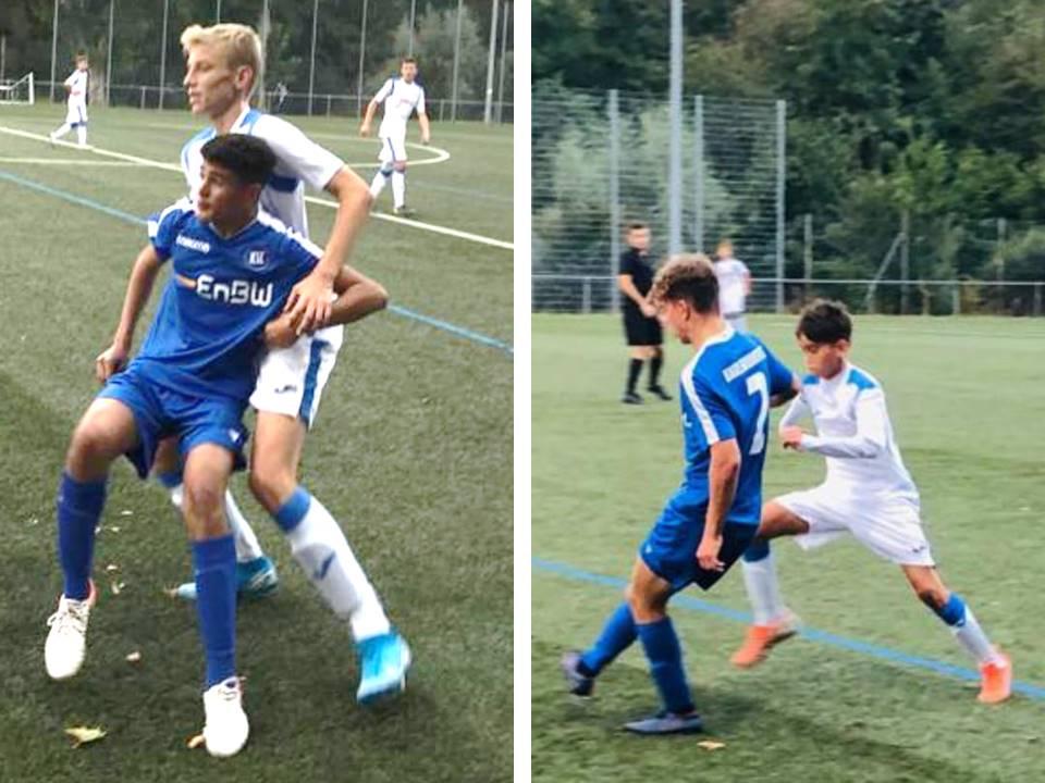 U15: Niederlage im Pokal gegen Regionalligisten KSC