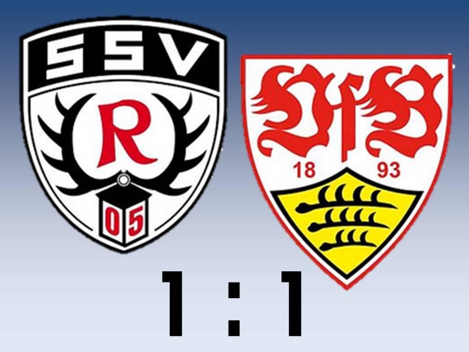 VfB Stuttgart II bleibt nach Remis auf Platz 4