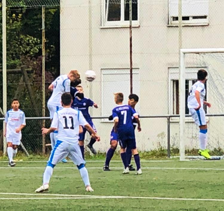 U15: Punkteteilung beim Derby gegen den FC Nöttingen