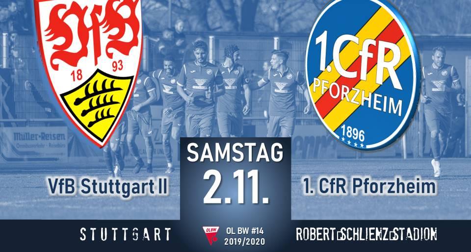Samstag: Auswärtsspiel in Stuttgart