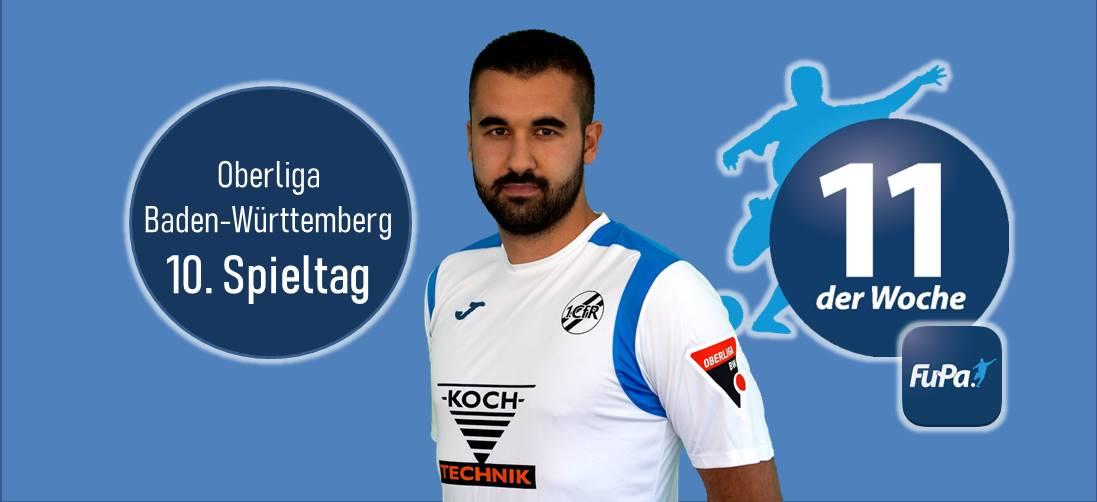 Serkan Baloglu erneut in FuPa Elf der Woche
