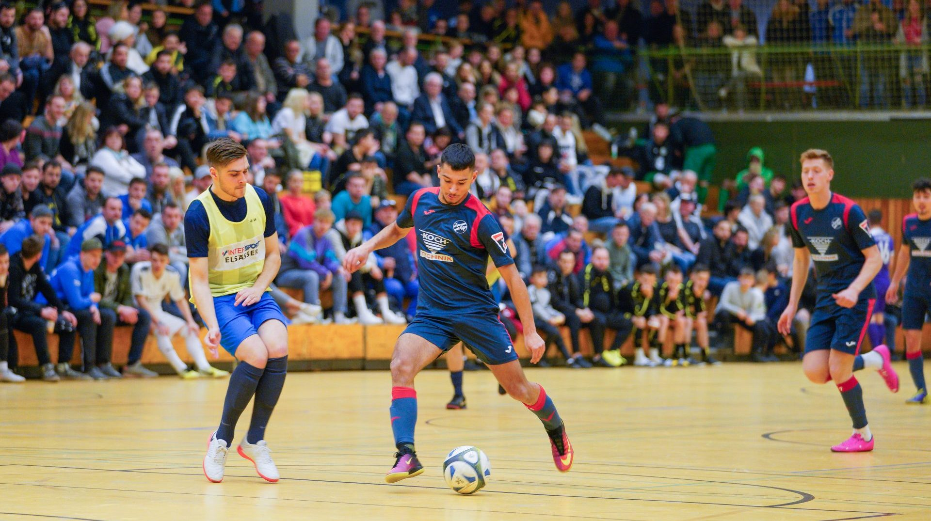1. CfR mit mäßigem Erfolg beim Hahn-Cup des SV Büchenbronn