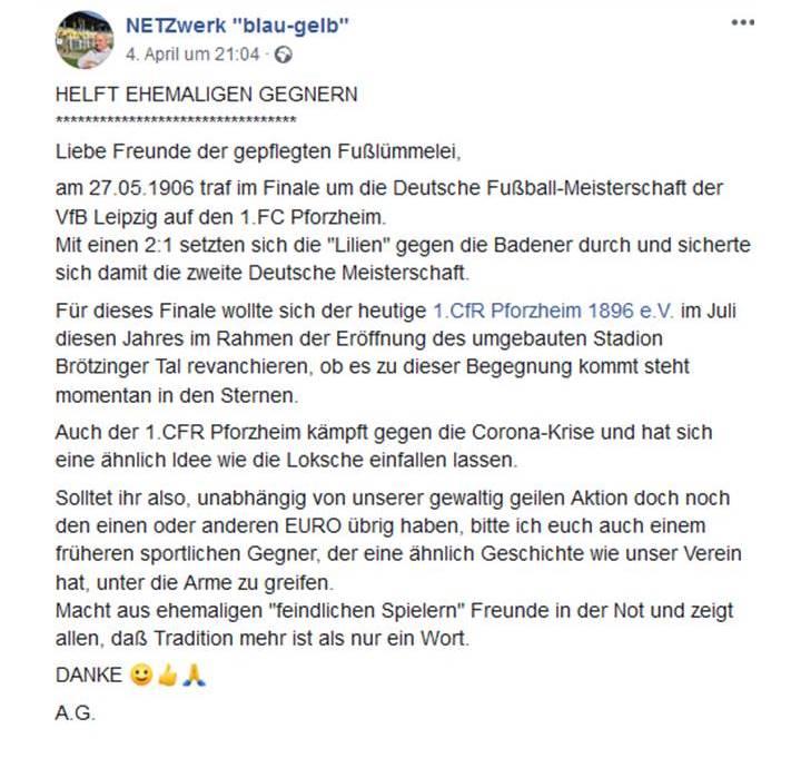 Tolle Unterstützung aus Leipzig