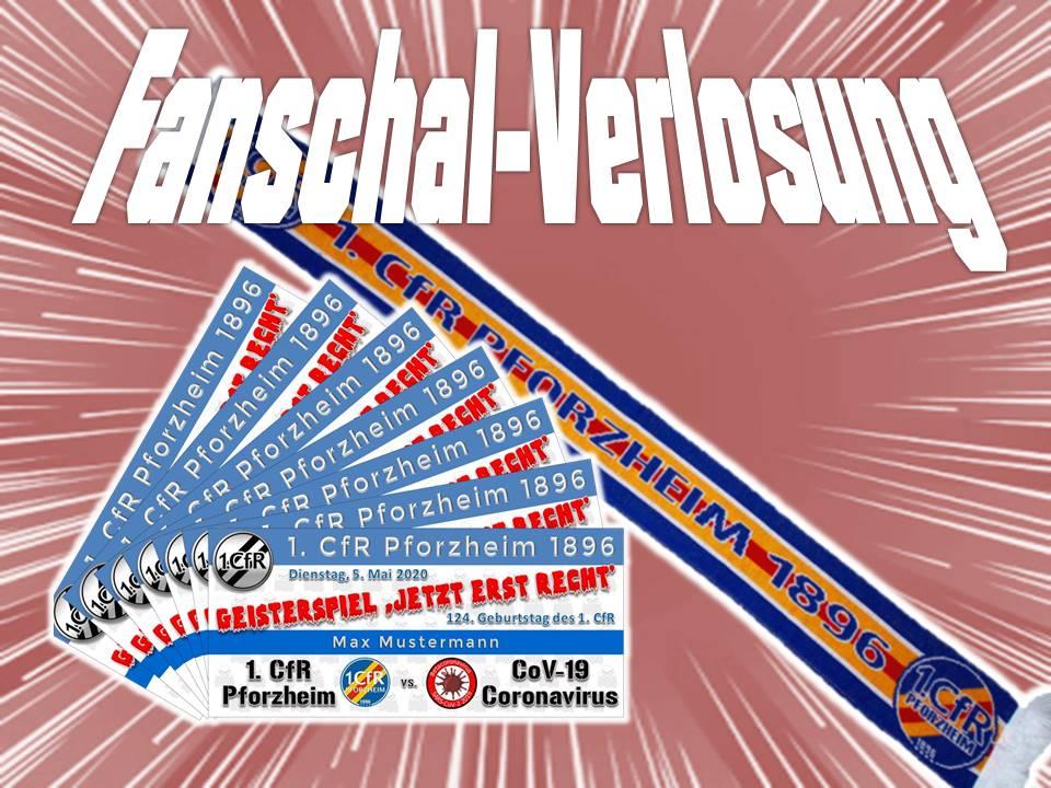Unter den nächsten 100 Tickets: Verlosung Fan-Schal