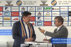 Interview mit Markus Geiser im Vorfeld des Geisterspiels
