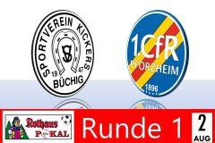 Pokalspiel in Büchig – WICHTIGE HINWEISE