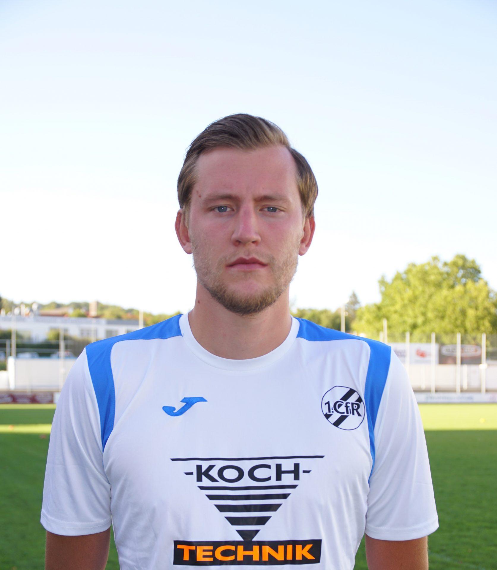 Kevin Rombach verstärkt ab sofort den Oberliga-Kader