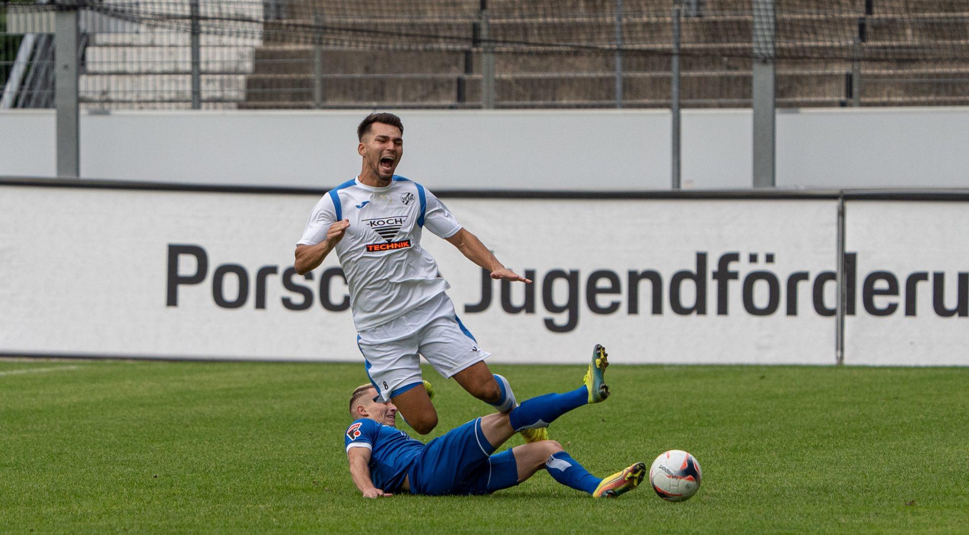 Erste Mannschaft unterliegt unglücklich in Stuttgart