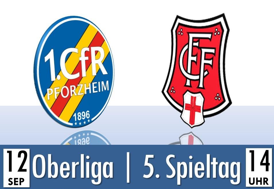 Samstag:  Heimspiel gegen den Freiburger FC