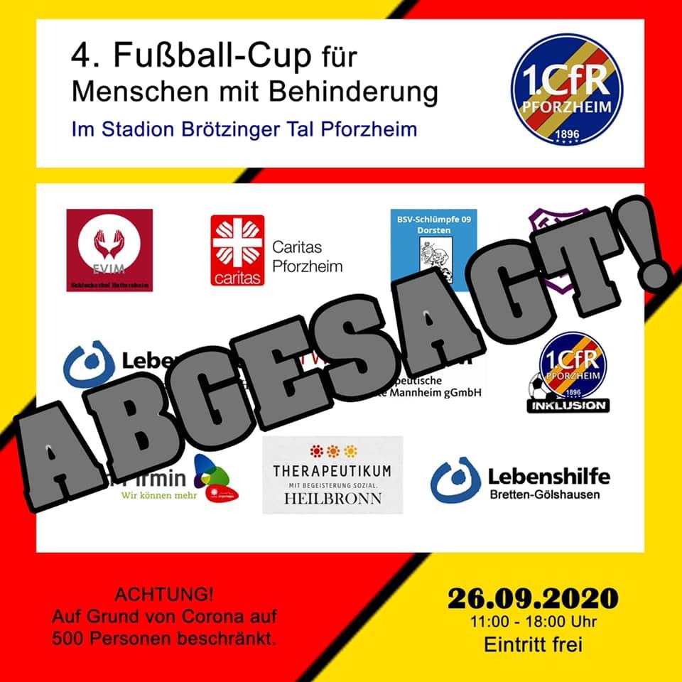 4. CfR-CUP muss abgesagt werden