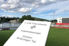 Schutz für Spieler und Zuschauer – 1. CfR ergänzt sein Hygienekonzept