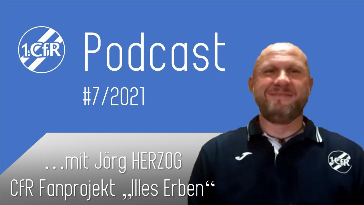 CfR Podcast #7/2021 – mit Jörg Herzog