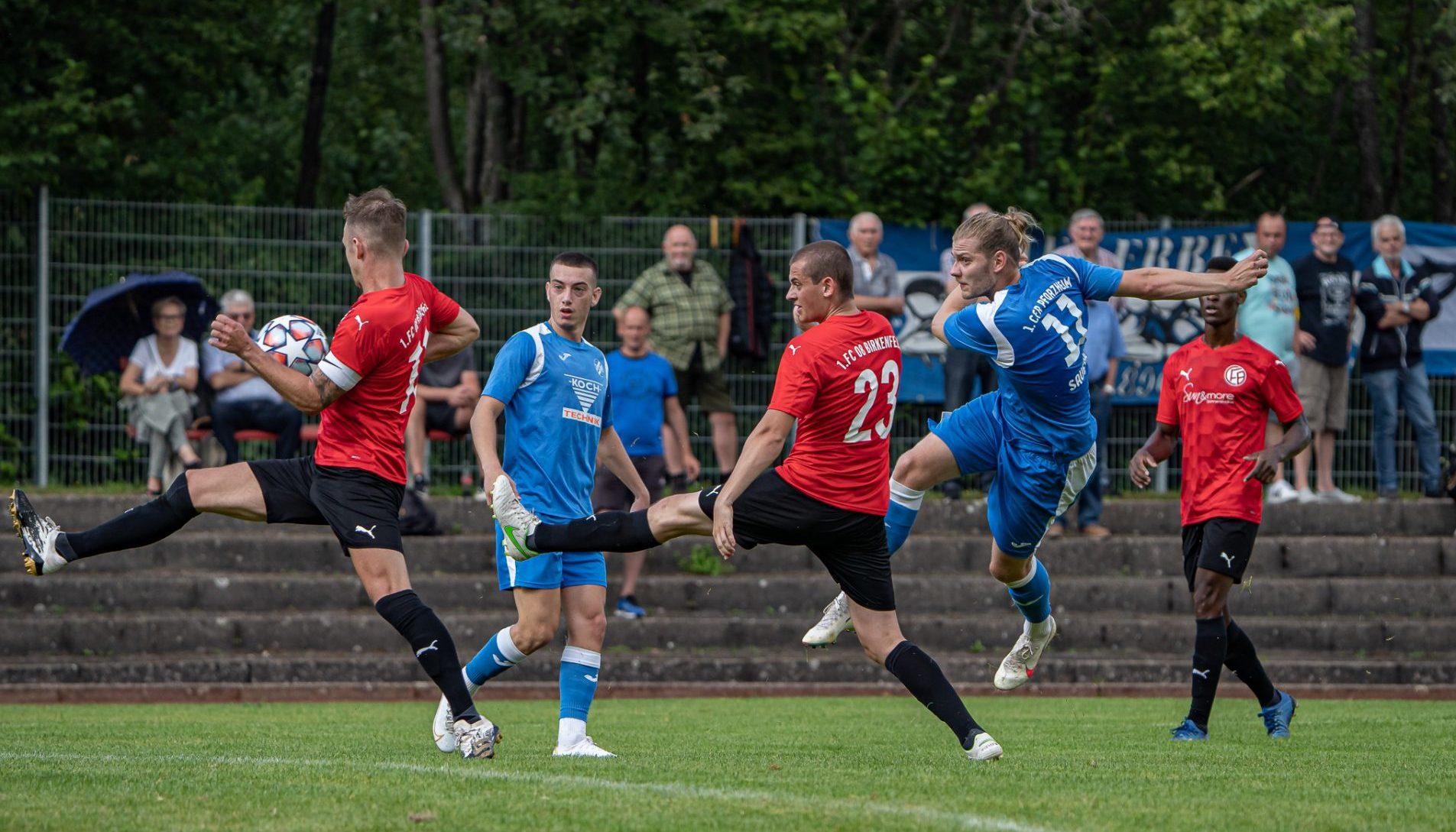 Erste Mannschaft startet erfolgreich in den bfv-Pokal