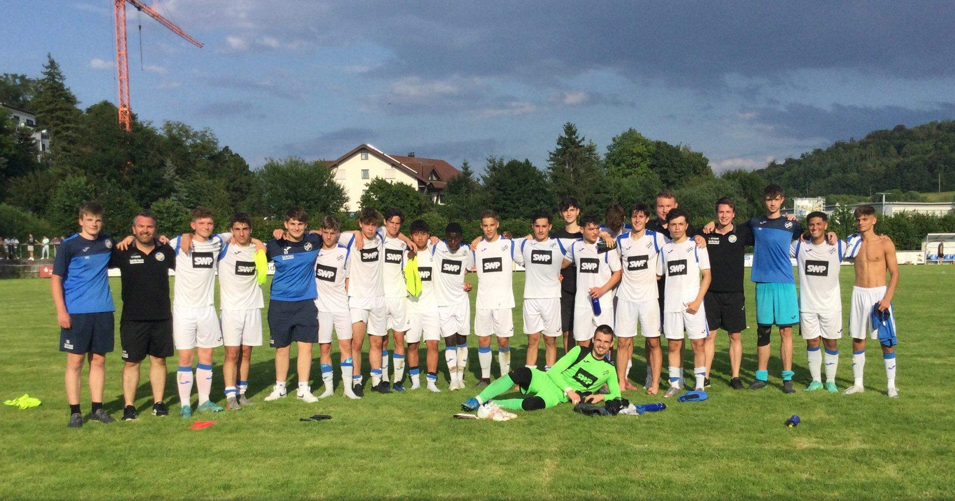 U18 unterliegt im Pokalfinale knapp