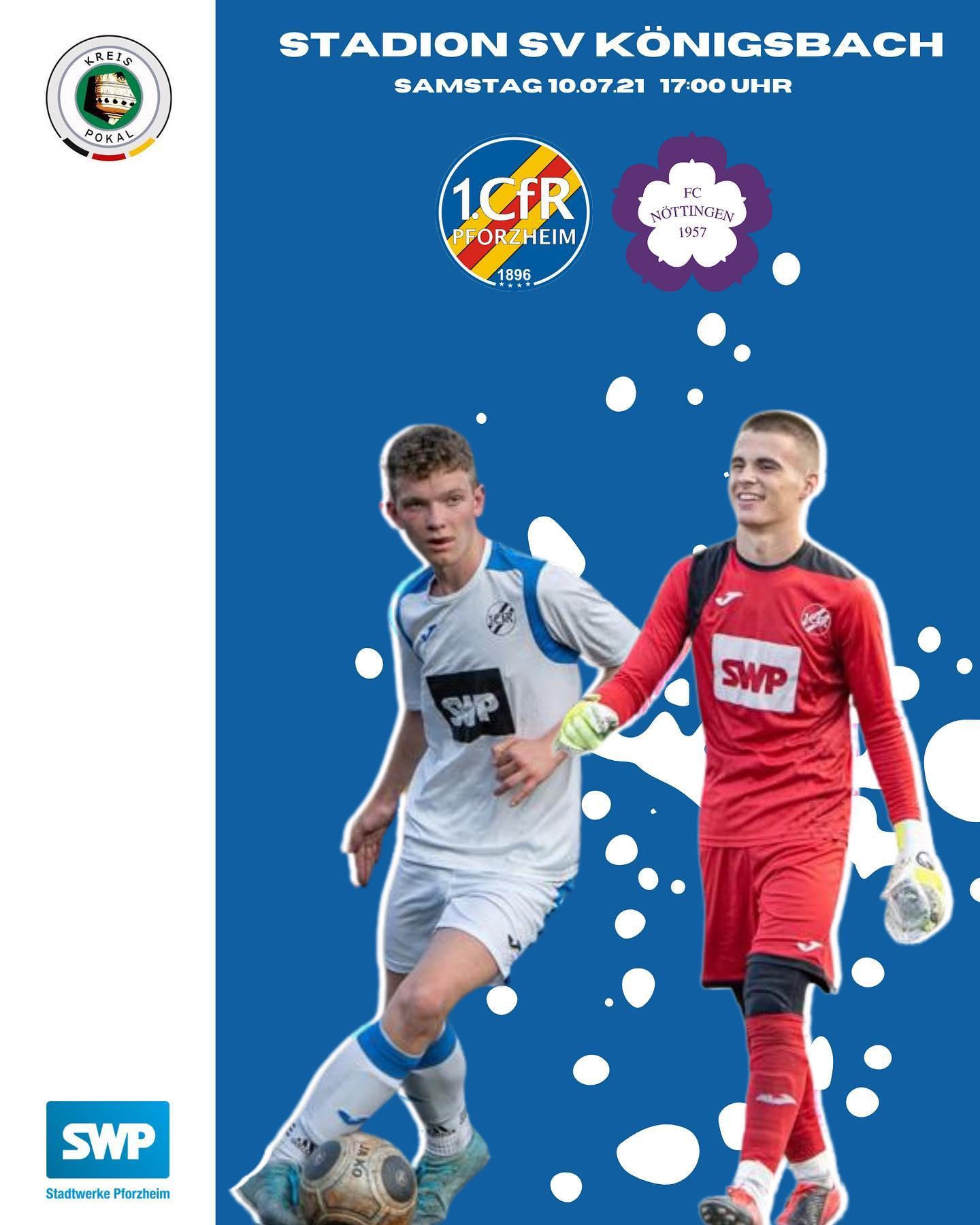 U18 trifft im Kreispokalfinale auf den FC Nöttingen