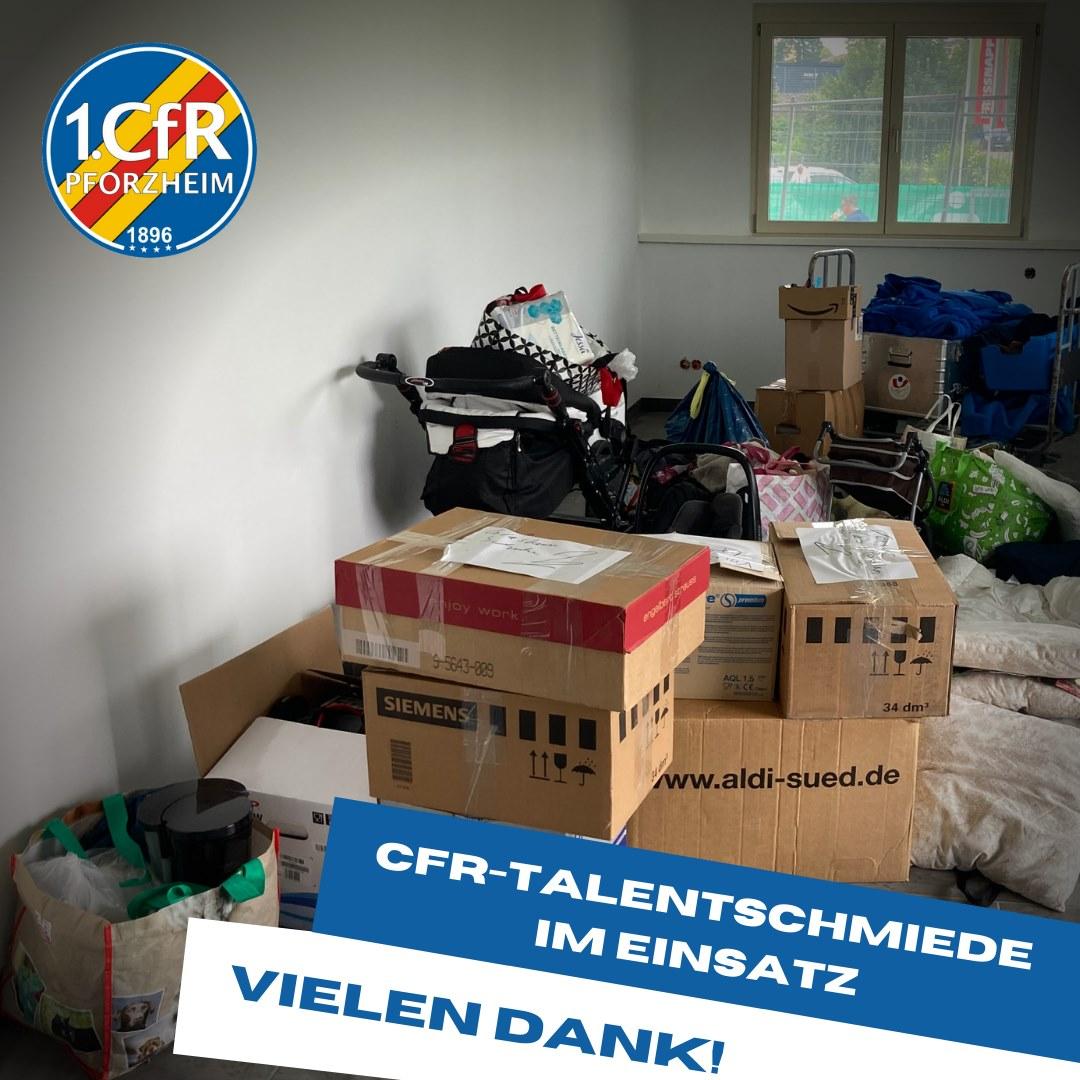 CfR Talentschmiede hilft
