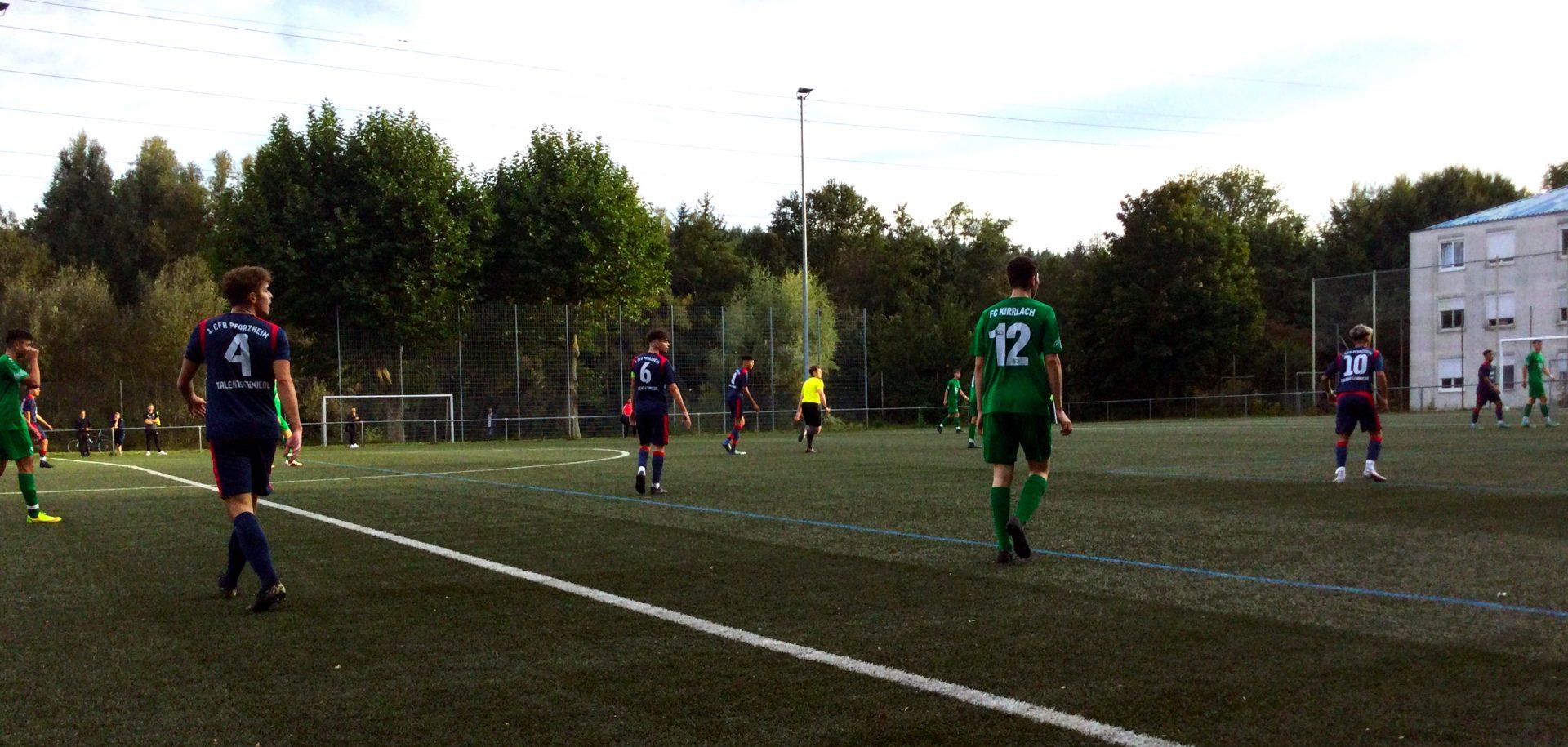 U19 mit Remis gegen Kirrlach